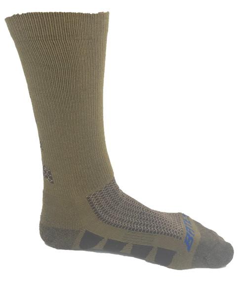 Bates Men's EPS Moisture Wicking 2 Pack Socks Coyote Brown