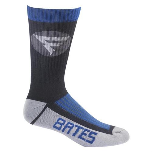 Bates Mens Performance Crew Socks Large Mens Shoe Size 10-13 1 Pack