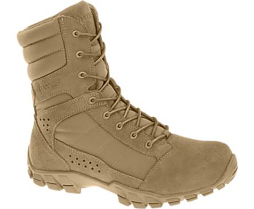 Bates 8670 Mens COBRA 8 Inch HOT WEATHER Military Boot
