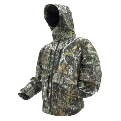 Frogg Toggs PF63161-58 Mens Pilot II Guide Realtree Edge Camo Waterproof Jacket