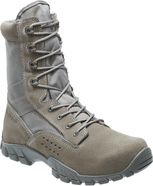 "Bates 22682 Mens Cobra 8"" Sage Side Zip Hot Weather Jungle Boot"