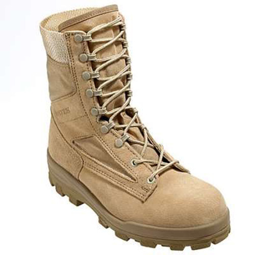 Bates 1129 Men's Durashocks 8 Inch Desert Tan Combat Boot