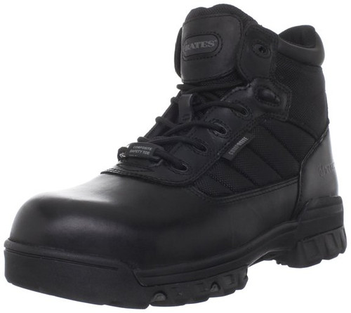 Bates 2264 Mens 5 Inch Tactical Sport Composite Toe Side Zip Boot