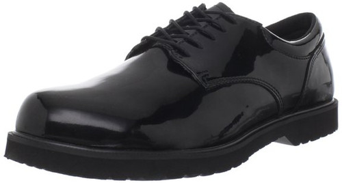 Bates 22141 Mens High Gloss Duty Oxford Shoe