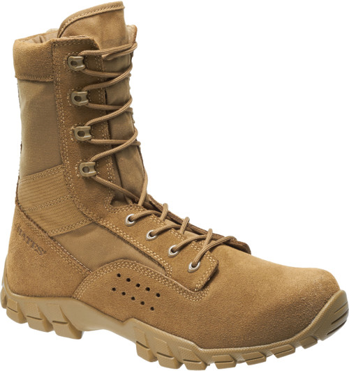 "Bates 22680 Mens Cobra 8"" Coyote Side Zip Hot Weather Jungle Boot"