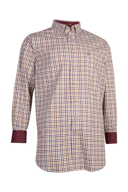 Noble Outfitters 11002-170 Mens Generations Fit Small Check Long Sleeve Western Shirt
