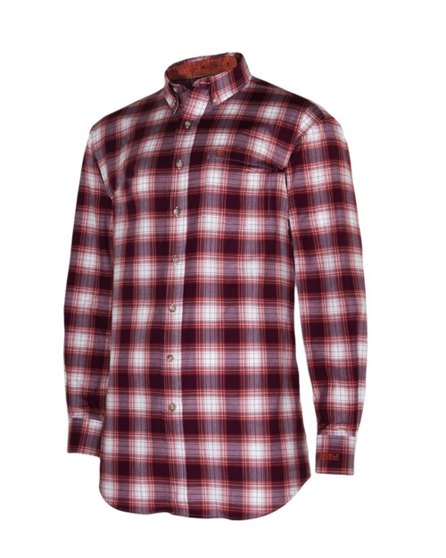 Noble Outfitters 11002-440 Mens Generations Western Fig Plaid Shirt