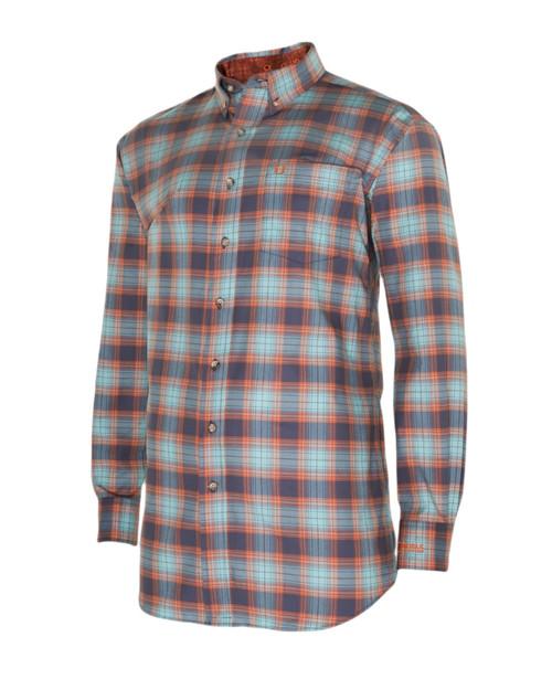 Noble Outfitters 11002-780 Mens Generations Copen Blue Plaid Shirt