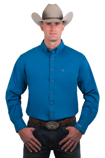 Noble Outfitters 11003-739 Mens Generations Fit Long Sleeve Solid Shirt