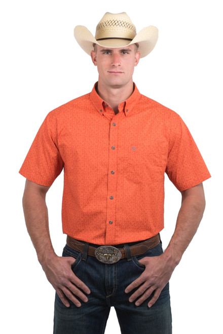 Noble Outfitters 12000-352 Mens Generations Short Sleeve Star Shirt