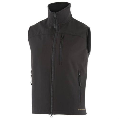 NOBLE OUTFITTERS 18000-019 MENS ALL AROUND BLACK VEST