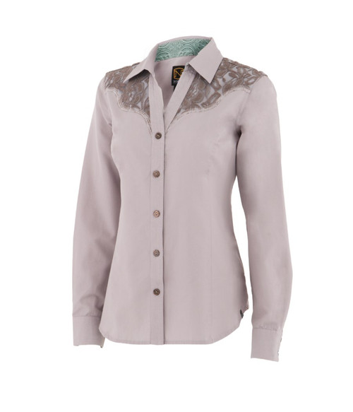 Noble Outfitters 21005-014 Womens Bluegrass Button Lace Shirt
