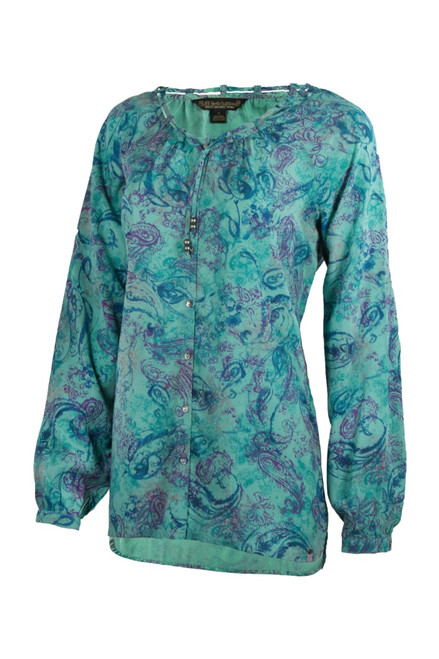 Noble Outfitters 21021-999 Womens Charmer Peasant Shirt