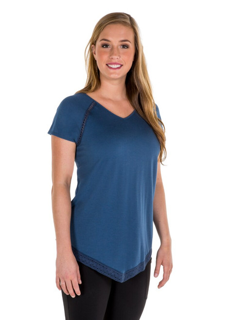 Noble Outfitters 22515-694 Womens Bella Top Shirt