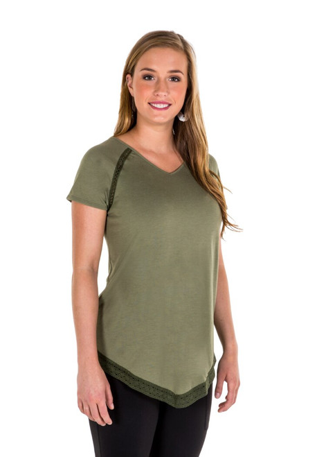 Noble Outfitters 22515-827 Womens Bella Top Shirt