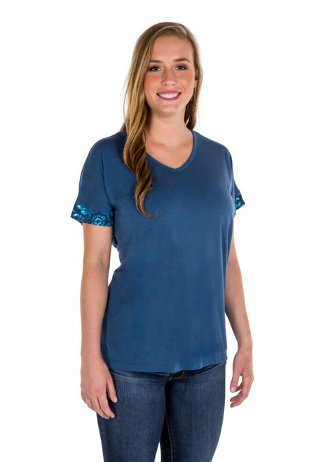 Noble Outfitters 22516-694 Womens Sophia Top Shirt