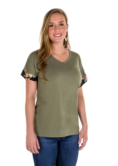 Noble Outfitters 22516-827 Womens Sophia Top Shirt