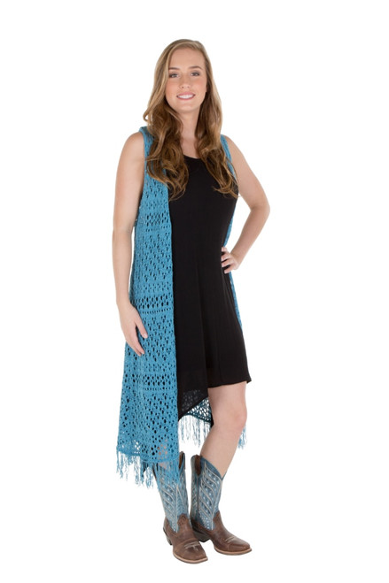 Noble Outfitters 27008-697 Womens Arizona Long Vest