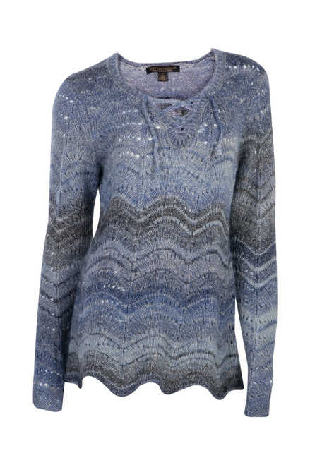 Noble Outfitters 27009-742 Womens Denver Pointelle Pullover