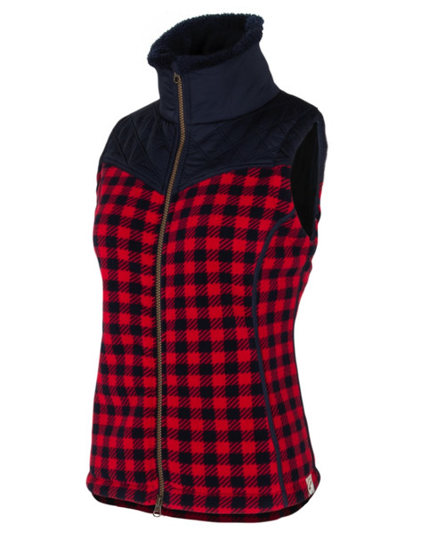 Noble Outfitters 28012-400 Womens Heritage Check Vest
