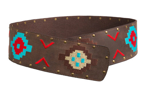 Noble Outfitters 29514-137 Womens Aztec Wrap Belt