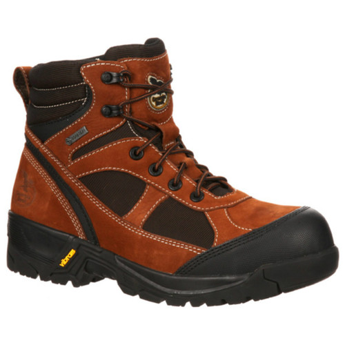 "Georgia GBOT032 Mens 6"" Stone Mountain Hiker Composite Toe Boot"
