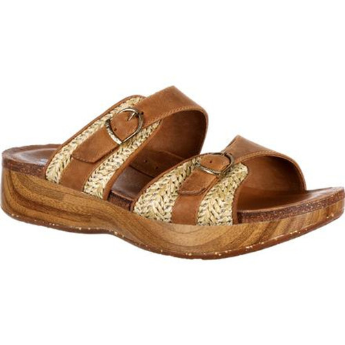 Rocky 4EurSole RKH094 Womens Golden Day Slide Sandal
