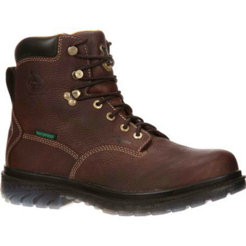 "Georgia GBOT055 Mens 6"" Zero Drag Steel Toe Boot"