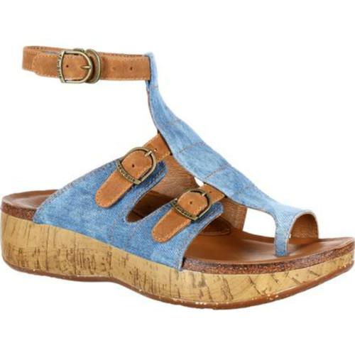 Rocky 4EurSole RKH060 Womens Stroll On Toe Ring Sandal
