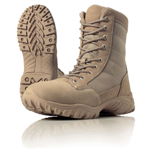 Wellco T107 Mens US Army Desert Tan Hot Weather Combat Boot