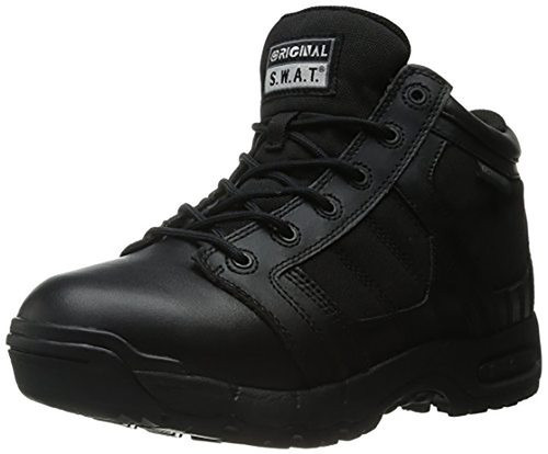 "Original S.W.A.T. Women's 125411 Metro Air 5"" Waterproof Side-Zip Women's black Military & Tactical Boot"
