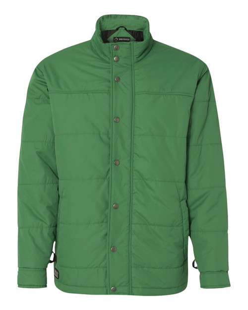 "DRI Duck 5371 Men's ""Traverse"" Puffer Jacket Leaf Green"