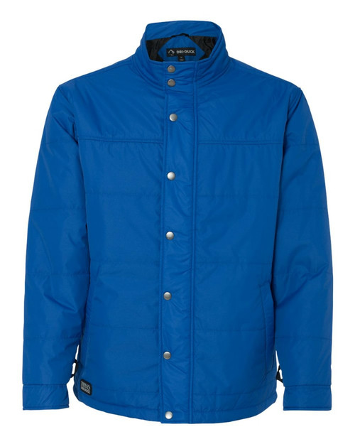 "DRI Duck 5371 Men's ""Traverse"" Puffer Jacket Tech Blue"