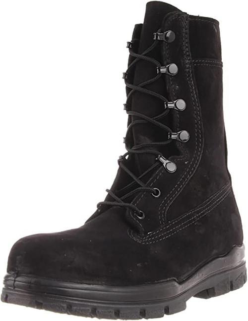 Bates E01778 Women's 9in US Navy Suede DuraShocks Steel Toe Boot
