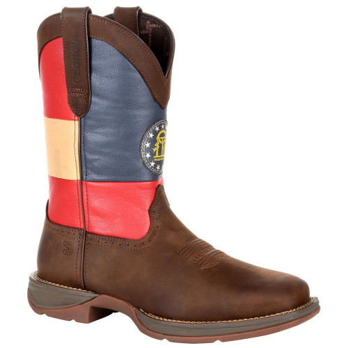 Rebel By Durango Georgia State Flag Western Boot