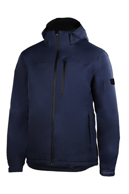 Noble Outfitters 18506-726 Mens Endurance Waterproof Navy Hood Jacket