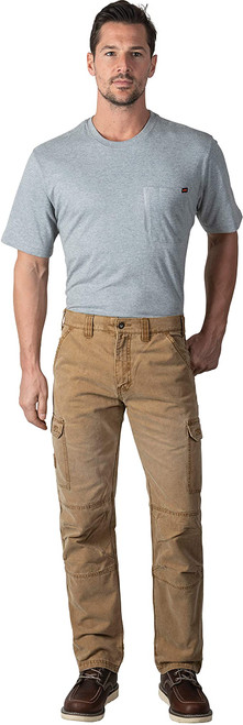 Walls YP825WPC9 Men's Vintage Cargo Utility Work Pant with Reinforced Knees