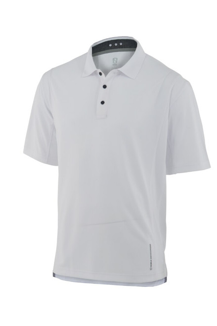 Noble Outfitters 12500-010 Mens Coolflo Performance White Polo Shirt