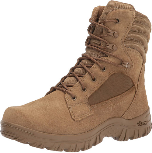 Bates 05702 Womens Cyren Tall Coyote Brown Combat Boot