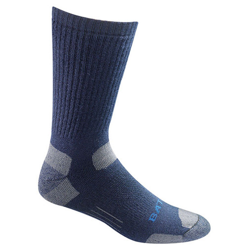 Bates Men's Tactical Mid Calf Navy 1 Pk Large Socks Made in the USA