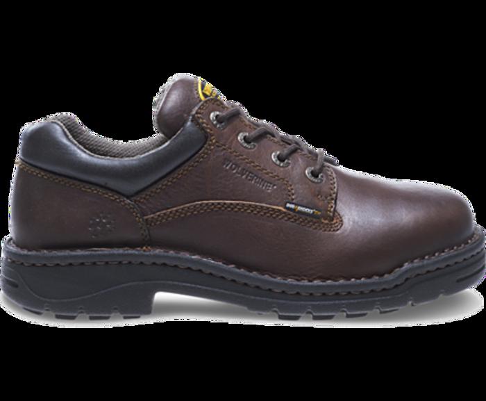 7f572472edbe Wolverine W04373 Mens Exert DuraShocks® Steel-Toe Opanka Oxford Work Shoe  ...