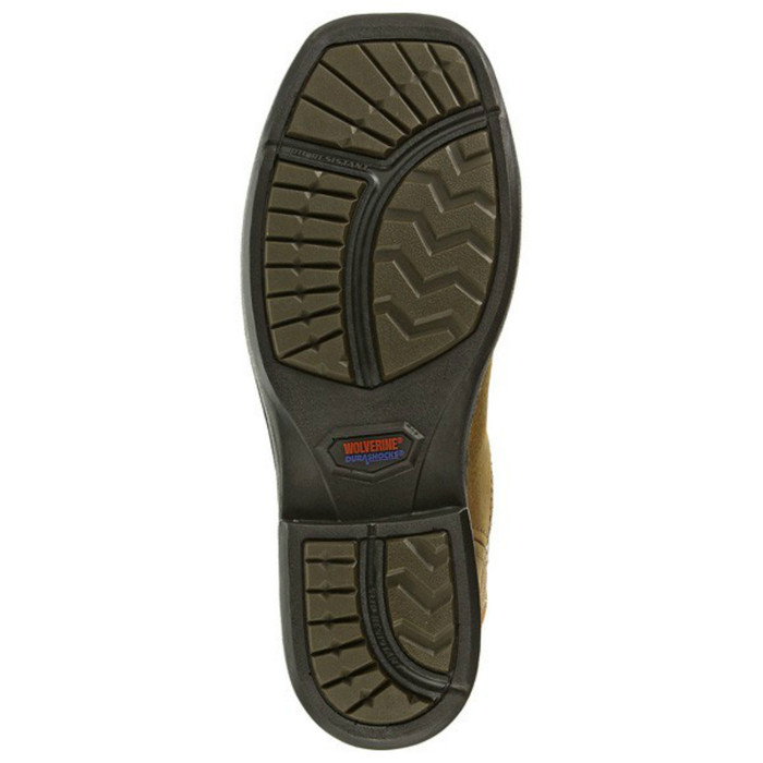 dcd61fe8487 Wolverine W10380 Mens Roscoe Composite Toe DuraShocks Square Toe Wellington  Boot
