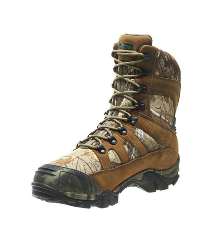 4d7cf0b9441 Wolverine W30082 Mens 8 Inch Ridgeline Xtreme Hunting Boot