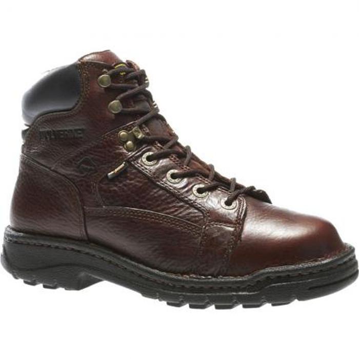 0f08745f3cb Wolverine W04378 Mens Exert Durashocks Opanka 6 Inch Work Boot