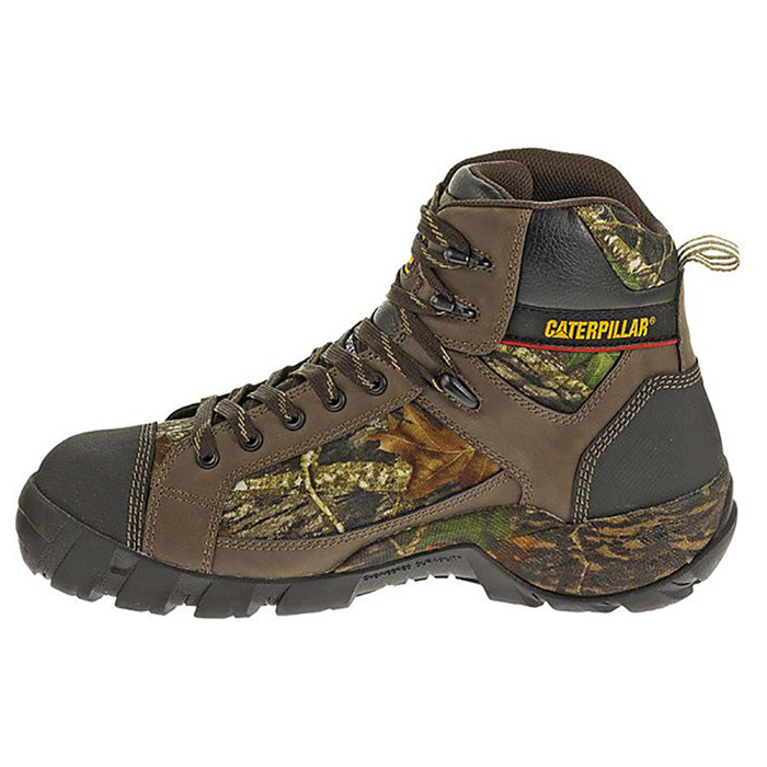 6e59d72e8b2 Catepillar P90413 Mens Hoit Mid Composite Toe Waterproof Work Boot
