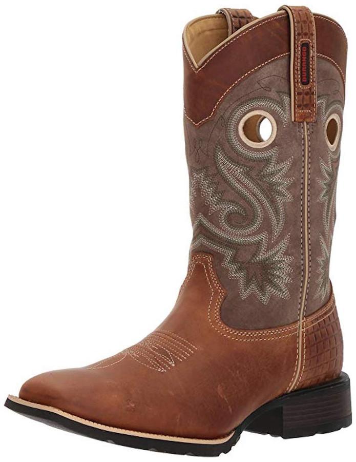 Durango Men's DDB0119 Western Boot, Brown/Dark Brown