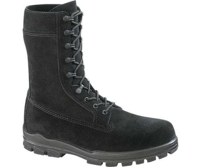 """Bates 1421 Mens 9"""" US Navy Suede Durashocks Steel Toe Boot"""