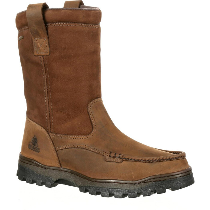 Rocky RKS0255 Mens Outback Gore-Tex Waterproof Wellington Boot