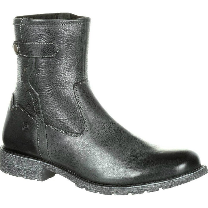 Durango DDB0153 Mens Drifter Side-Zip Leather Boot