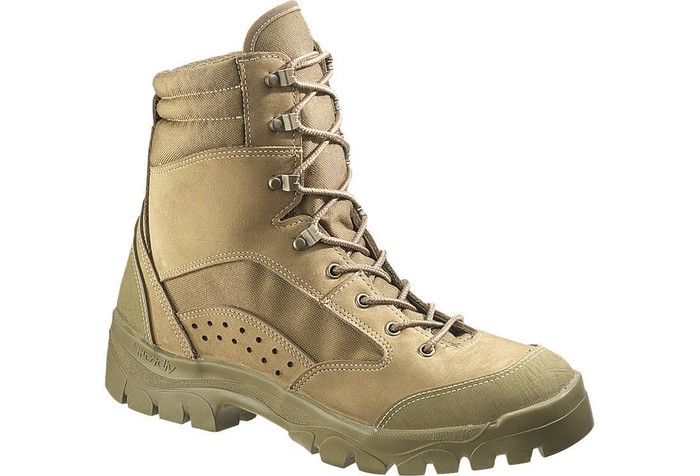 Bates 3612 Mens Olive Mojave Combat Hiker Boots